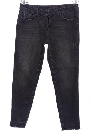 Jane Spodnie z pięcioma kieszeniami czarny W stylu casual