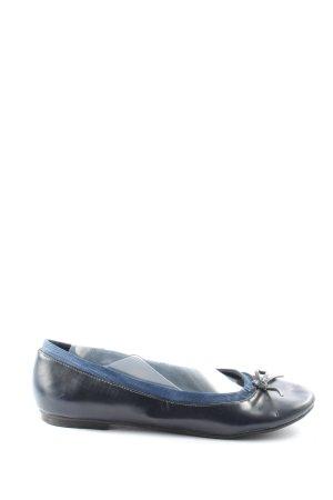 Jane Klain Lackballerinas blau Casual-Look