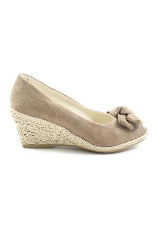 Jane Klain Peep Toe Pumps wolwit elegant