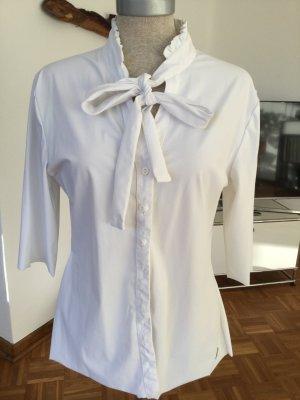 Tie-neck Blouse white