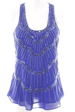 Jane norman A-lijn top donkerblauw elegant