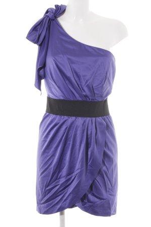 Jane norman Abendkleid dunkelviolett-schwarz Elegant