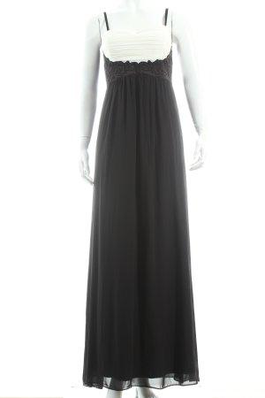 Jane norman Abendkleid schwarz-creme Elegant