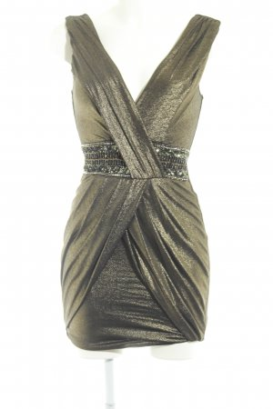 Jane norman Ballonjurk goud-zwart casual uitstraling
