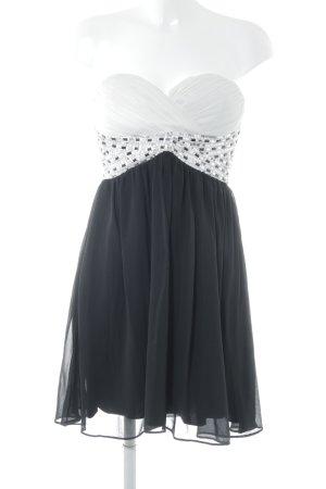 Jane norman Bandeaukleid schwarz-weiß Elegant