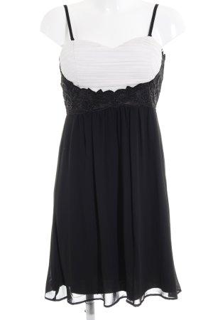Jane norman Chiffonkleid schwarz Elegant