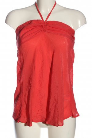 Jane norman Top de corte imperio rojo look casual