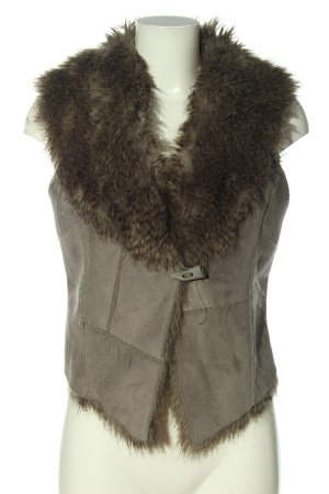 Jane norman Smanicato in ecopelliccia grigio chiaro-marrone elegante