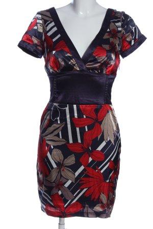 Jane norman Shortsleeve Dress flower pattern elegant