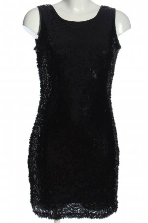 Jane norman Pailettenkleid schwarz Elegant