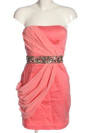 Jane norman schulterfreies Kleid rot Elegant