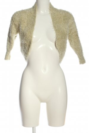 Jane norman Knitted Bolero gold-colored flecked casual look