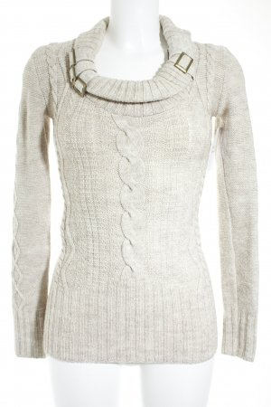 Jane norman Strickpullover creme Casual-Look