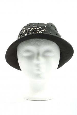 Jane Tran Felt Hat black casual look
