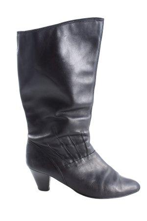 Janet D Absatz Stiefel schwarz Casual-Look