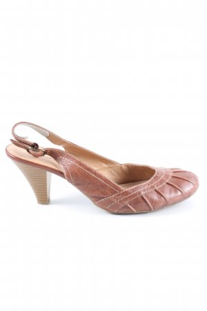 Janet D Slingback pumps bruin zakelijke stijl
