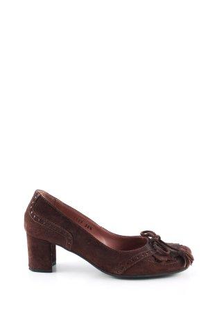 Janet & Janet High Heels braun Casual-Look