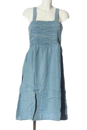 Janet & Joyce Denim Dress blue casual look