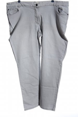 Janet & Joyce Straight-Leg Jeans hellgrau Casual-Look