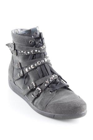 Janet sport High Top Sneaker dunkelgrau Casual-Look