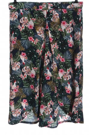 Janina 3/4 Length Trousers allover print casual look
