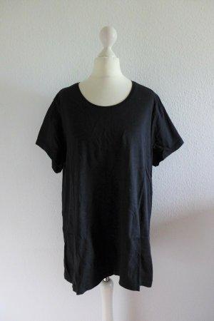 Janina Basic T-Shirt Kurzarm schwarz Gr. 48 XXL