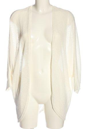 Janina Kardigan w kolorze białej wełny W stylu casual