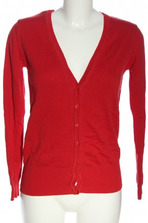 Janina Kardigan czerwony W stylu casual