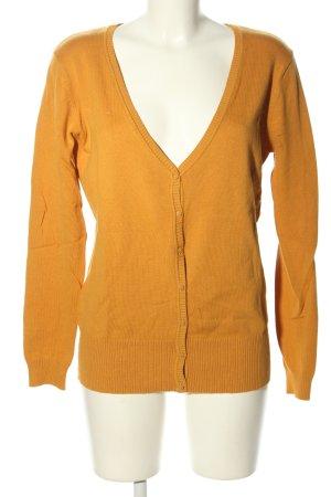 Janina Kardigan jasny pomarańczowy W stylu casual