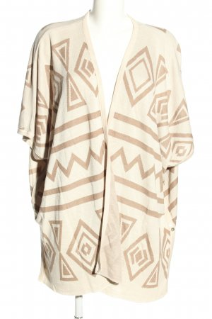 Janina Cardigan creme Allover-Druck Casual-Look