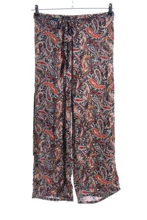 Janina Culottes abstraktes Muster Casual-Look