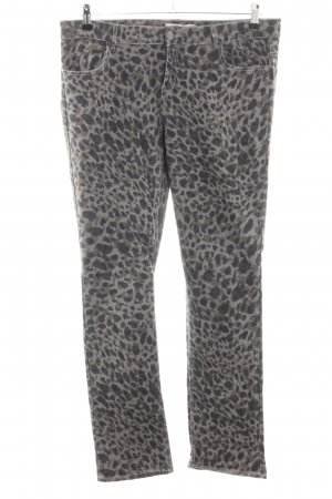 Janina Five-Pocket Trousers animal pattern casual look
