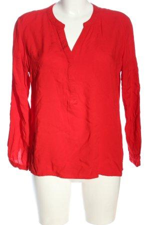 Janina Camicia blusa rosso stile casual