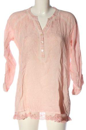 Janina Camicia blusa rosa-crema