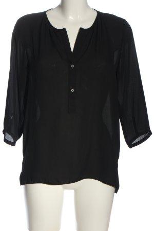 Janina Camicia blusa nero stile professionale