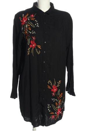 Janina Abito blusa camicia motivo floreale stile casual