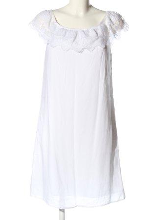 Janina Jersey Dress white casual look