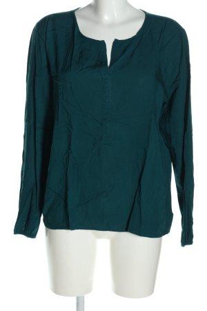 Janina Langarm-Bluse grün Business-Look