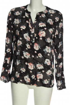 Janina Langarm-Bluse Blumenmuster Casual-Look