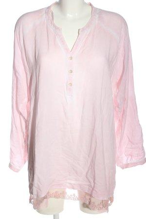 Janina Langarm-Bluse pink Casual-Look