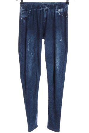 Janina Leggings blau Casual-Look