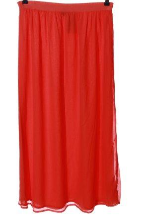 Janina Maxi Skirt red casual look