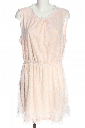 Janina Minikleid creme-weiß abstraktes Muster Casual-Look