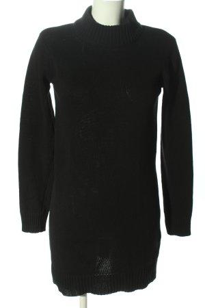 Janina Pulloverkleid schwarz Casual-Look