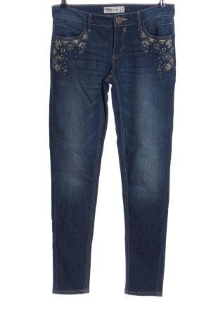 Janina Jeans cigarette bleu style décontracté
