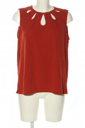 Janina Schlupf-Bluse rot Streifenmuster Casual-Look