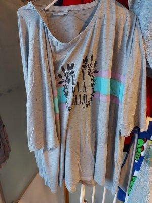 Janina Shirt Gr. 56 in grau mit Glitzersteinchen