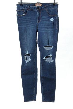Janina Jeans skinny blu stile casual