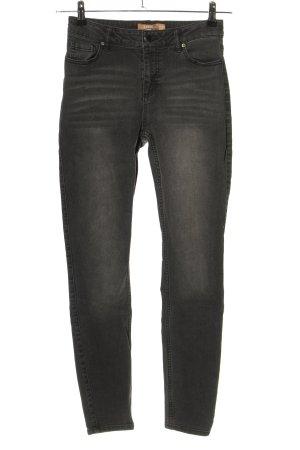 Janina Skinny Jeans hellgrau Casual-Look