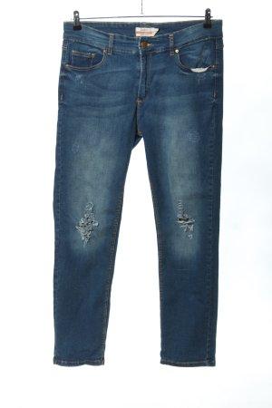 Janina Jeans slim bleu style décontracté